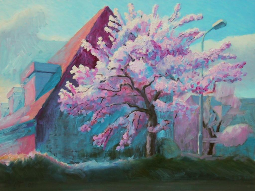 """""""Bloeiende bomen in Heelsum I"""", 2001"""