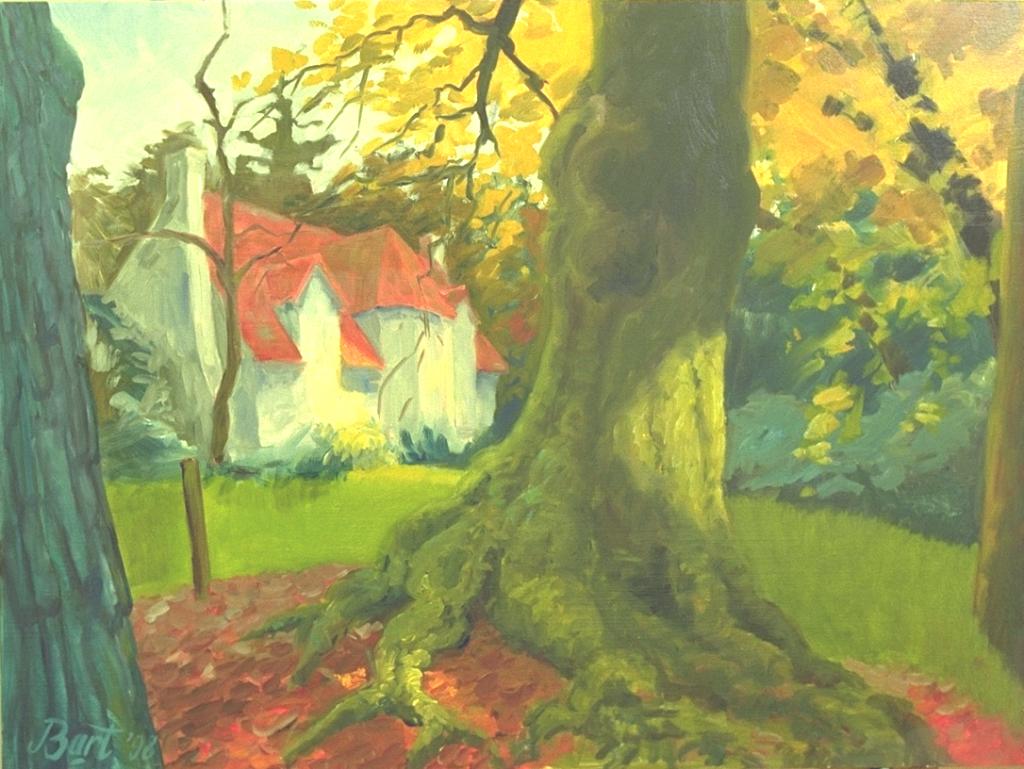 """""""Duno Villa, herfst"""", 1998"""