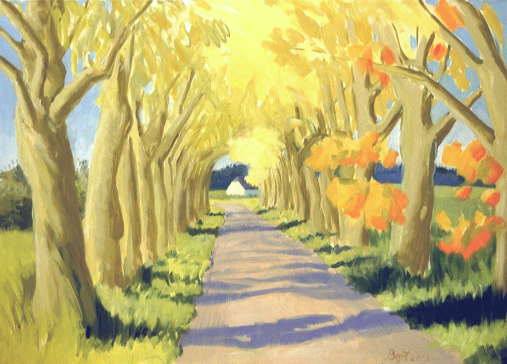 """Klein Amerikaweg, herfst II"", 2003"