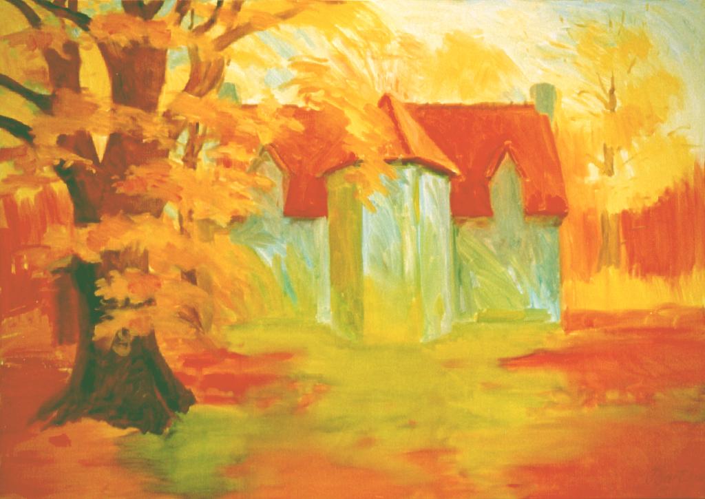 """""""Herfst bij de duno villa"""", 2000"""