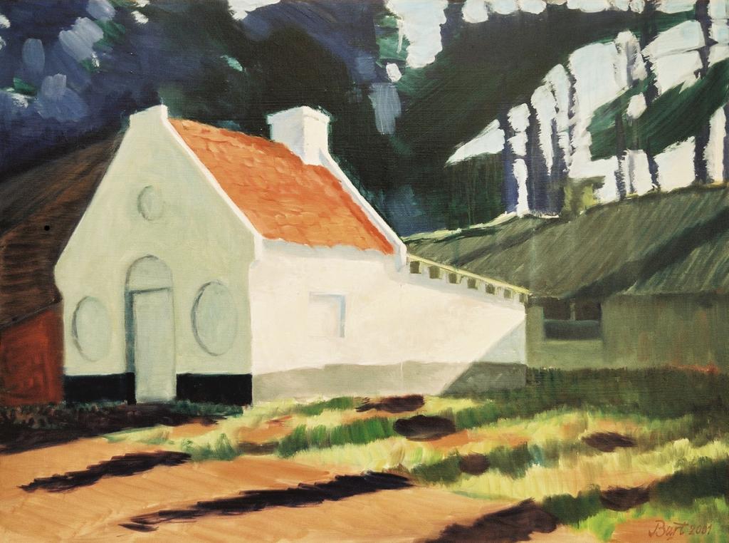 """""""Huisje, februarilicht"""", 2001"""