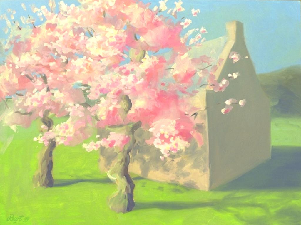 """""""Huisje met bloeiende bomen"""", 1999"""