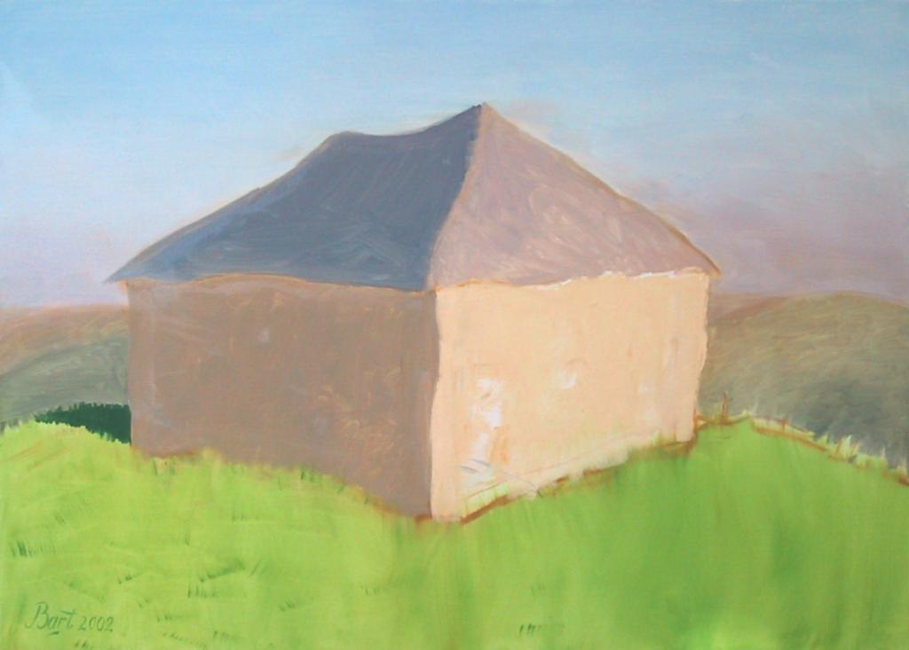 """""""Schuur aan het einde van de winter"""", 2002"""