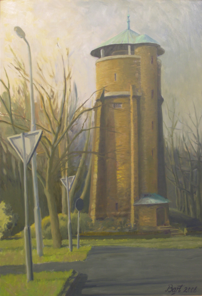 """Watertoren (Wageningen)"", 2006"