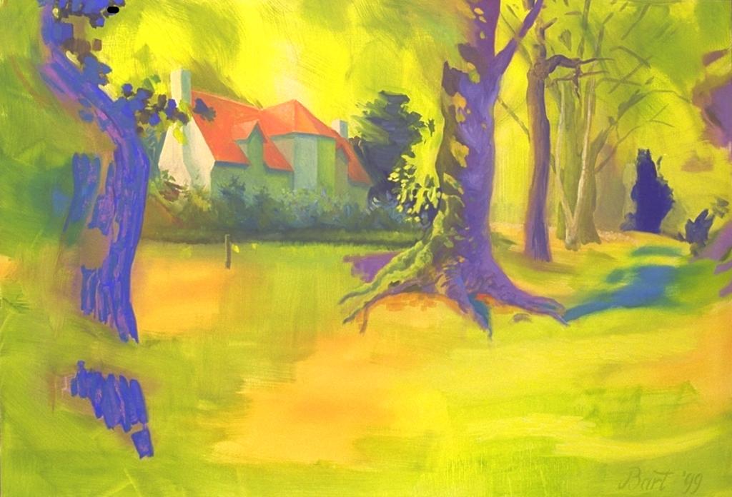 """""""Duno villa in groen bos"""", 1999"""