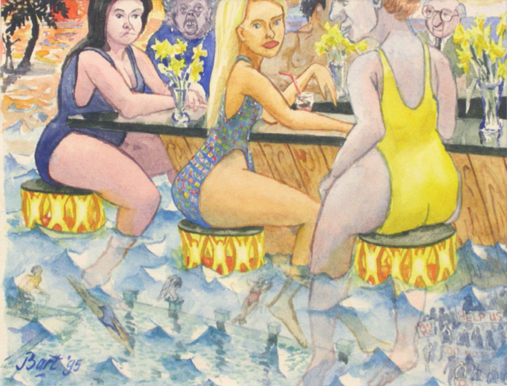 """Lonely Swimmingpool Bar"", 1995"
