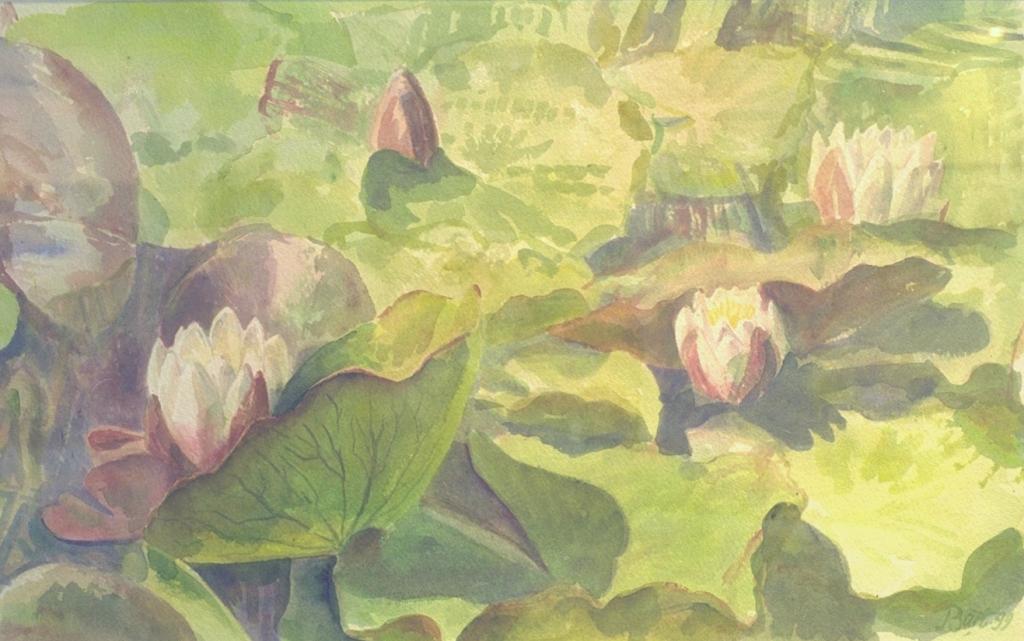 """""""Waterlelies"""", 1999"""