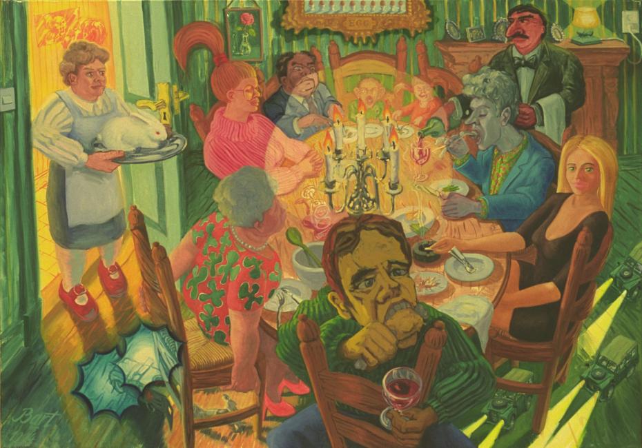 """Familiediner"", 1994"