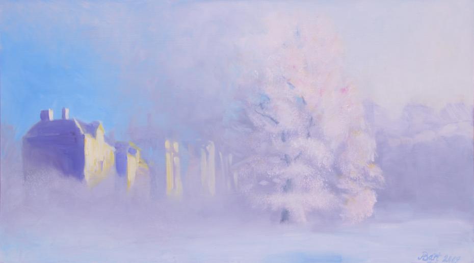 """""""Oosterbeek, mistige winterochtend III"""", 2009"""