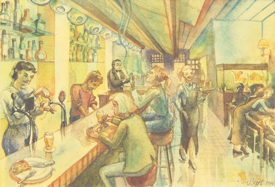 """Pizzeria Bar"", 1996"