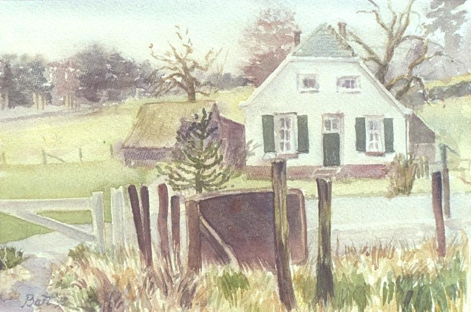 """""""Witte boerderij"""", 1998"""