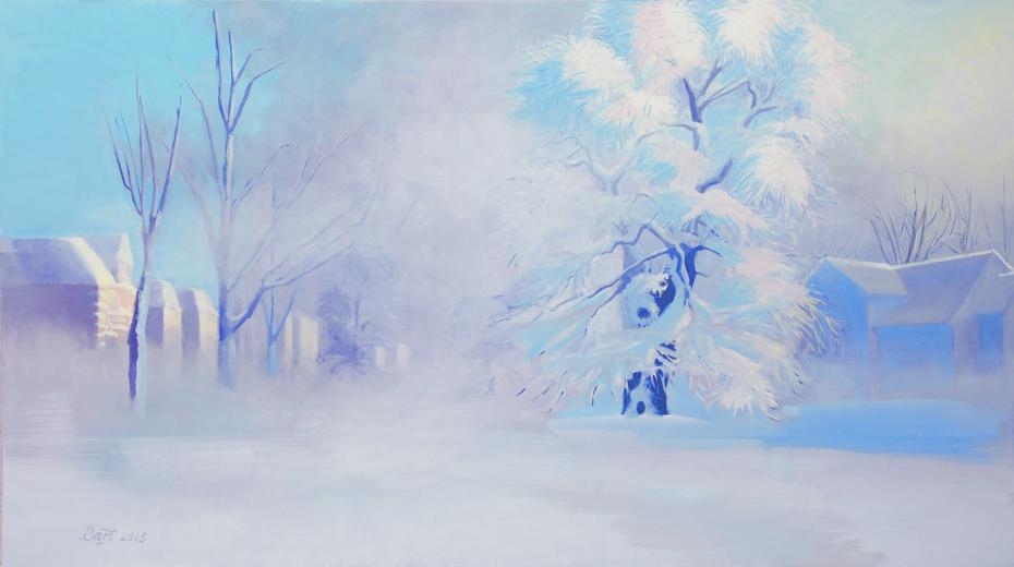 """""""Winterochtend, mist."""", 2013"""