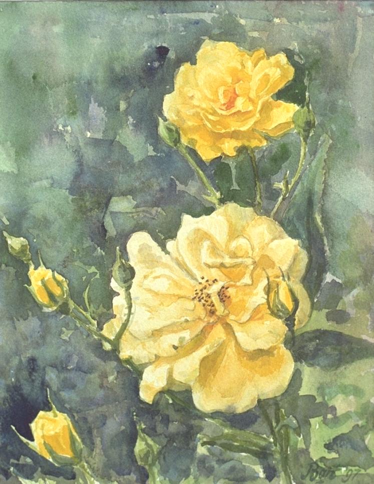 """""""Gele rozen"""", 1997"""