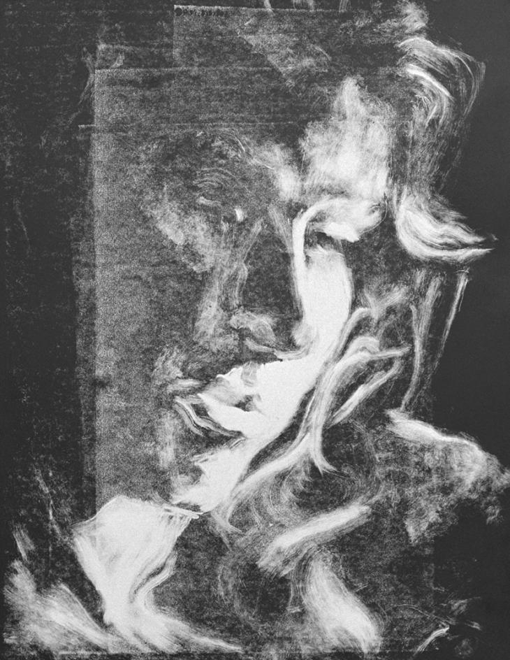 """""""Portret van een model"""", 1990"""