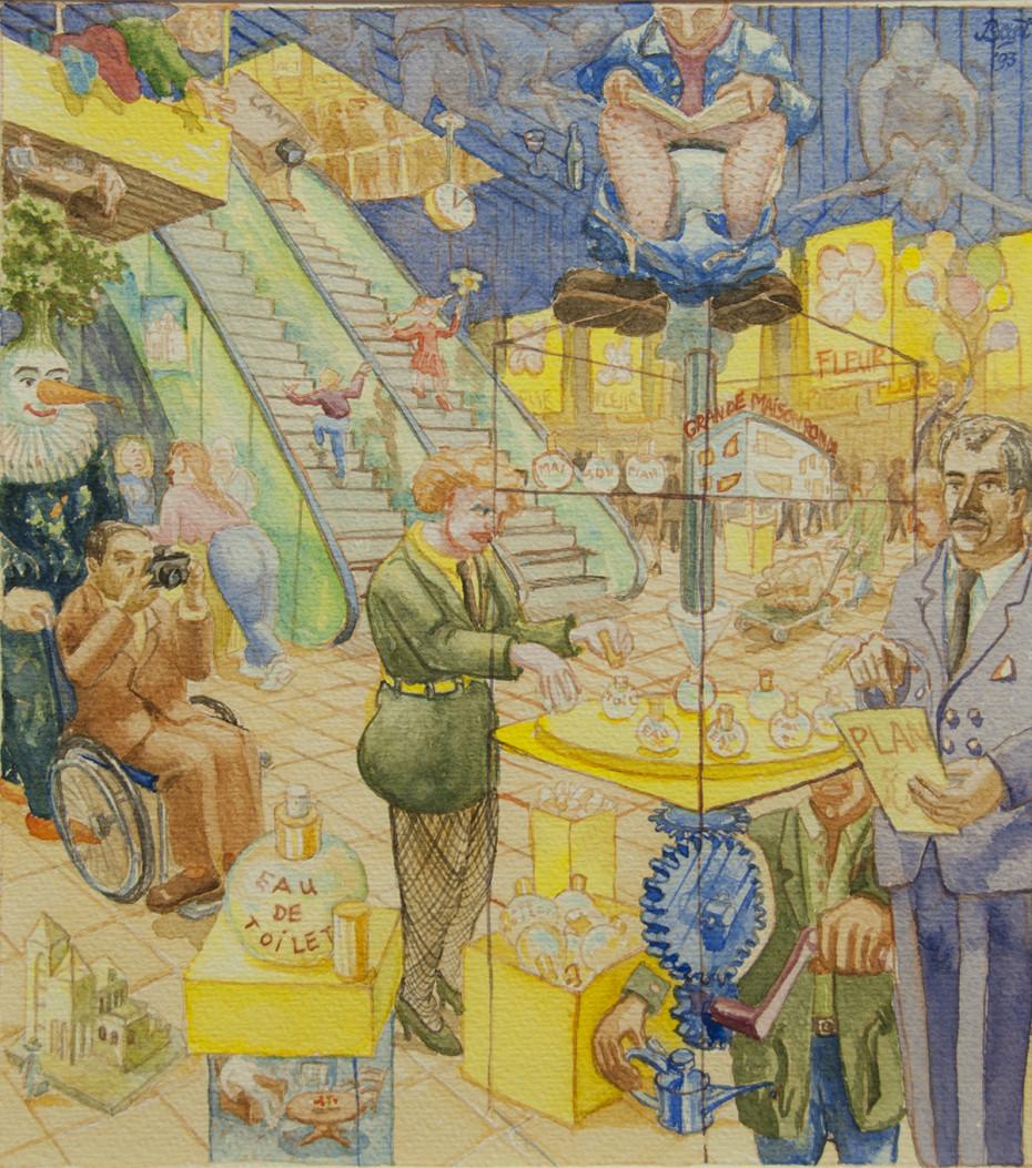 """""""Eau de Toilet"""", 1993"""