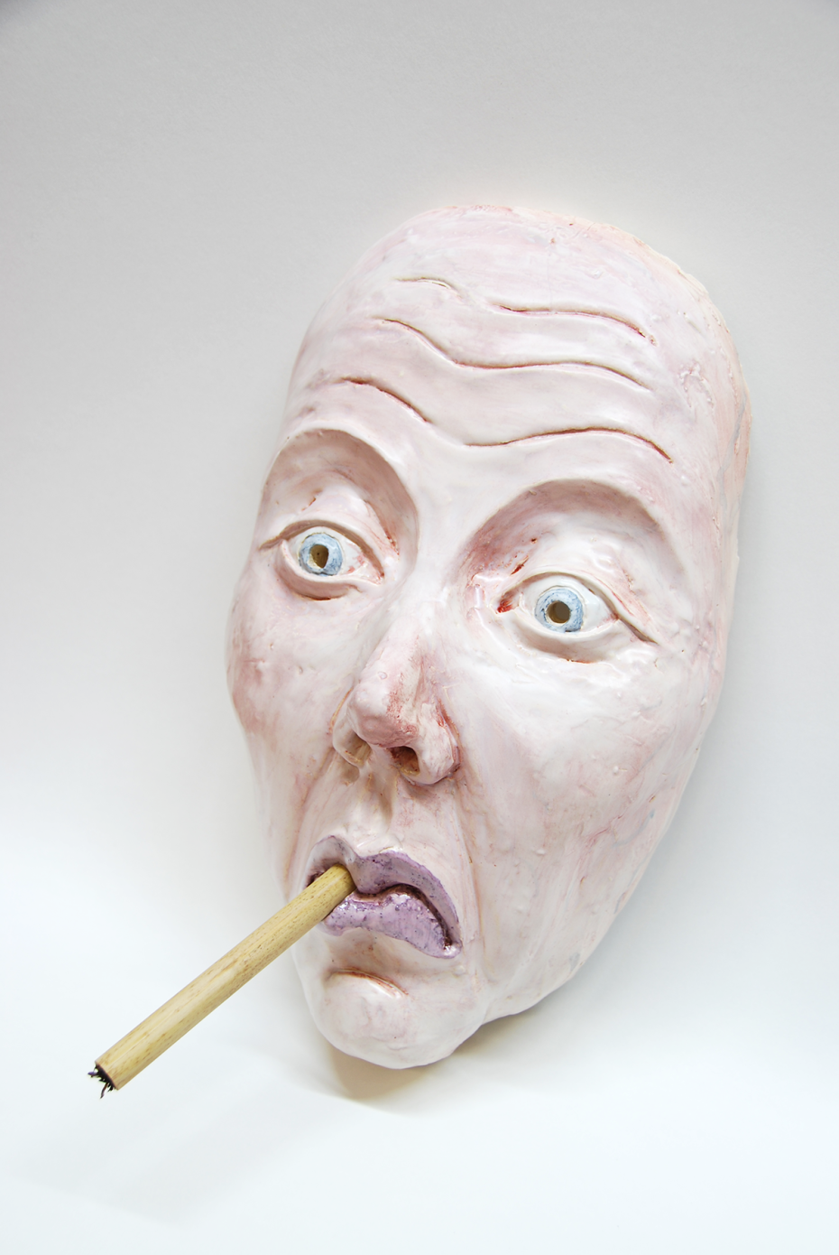 """Mask Of The Smoking Blonde II"", 2015"