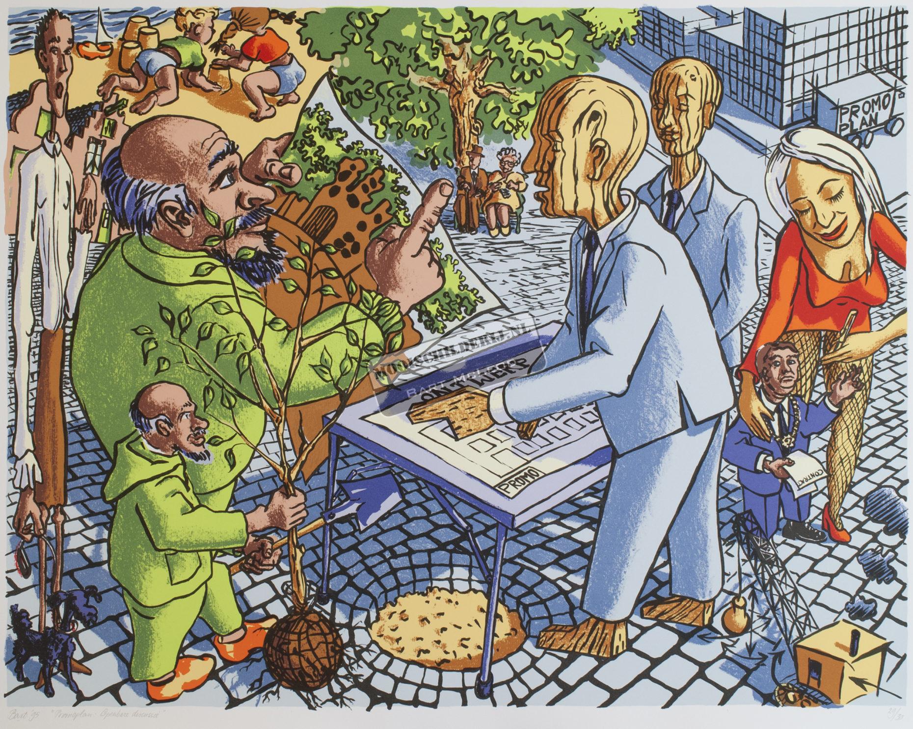 """Promoplan: Openbare Discussie"", 1995"