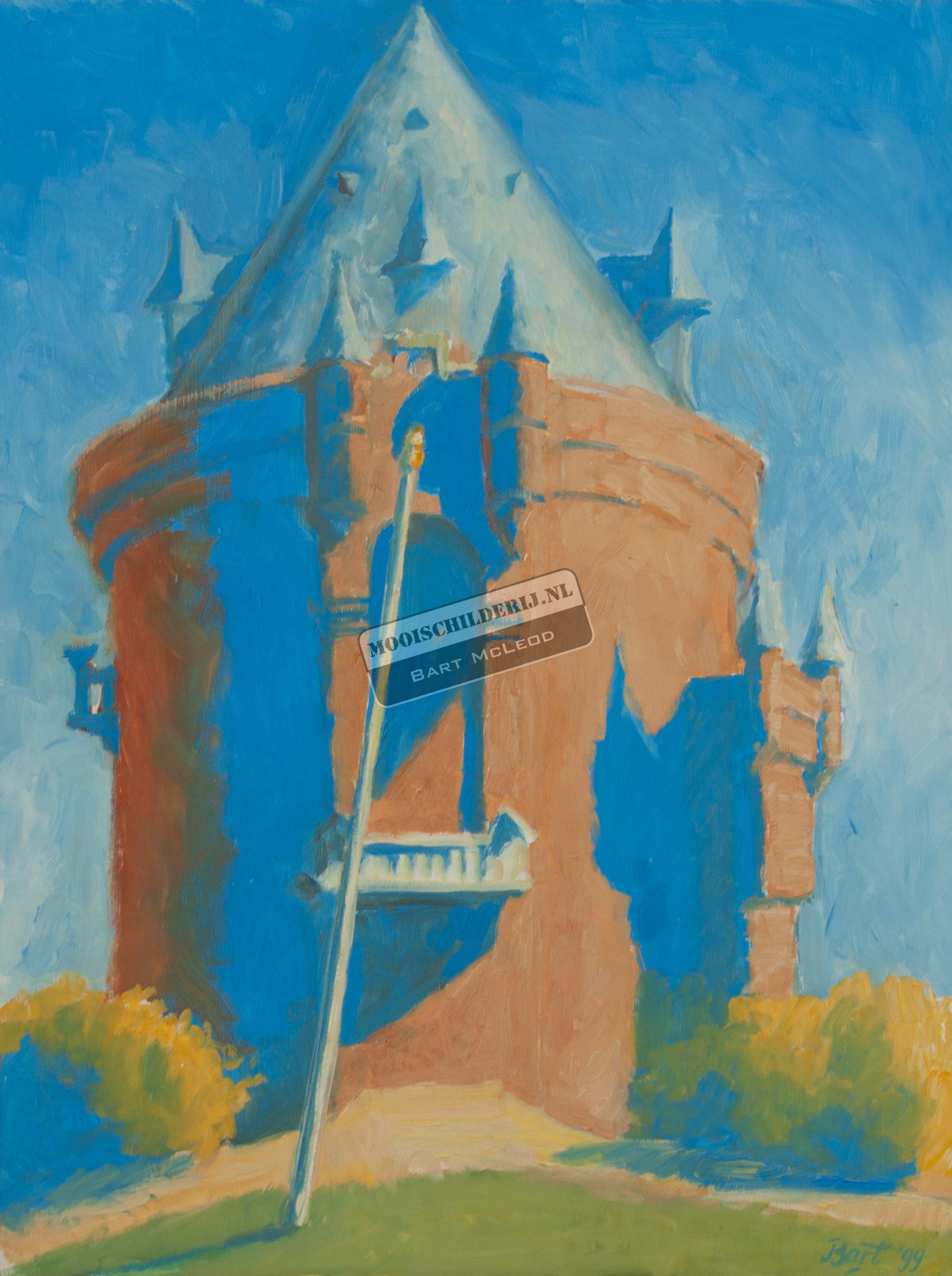 """""""Gelderse Toren met blauw"""", 1999"""