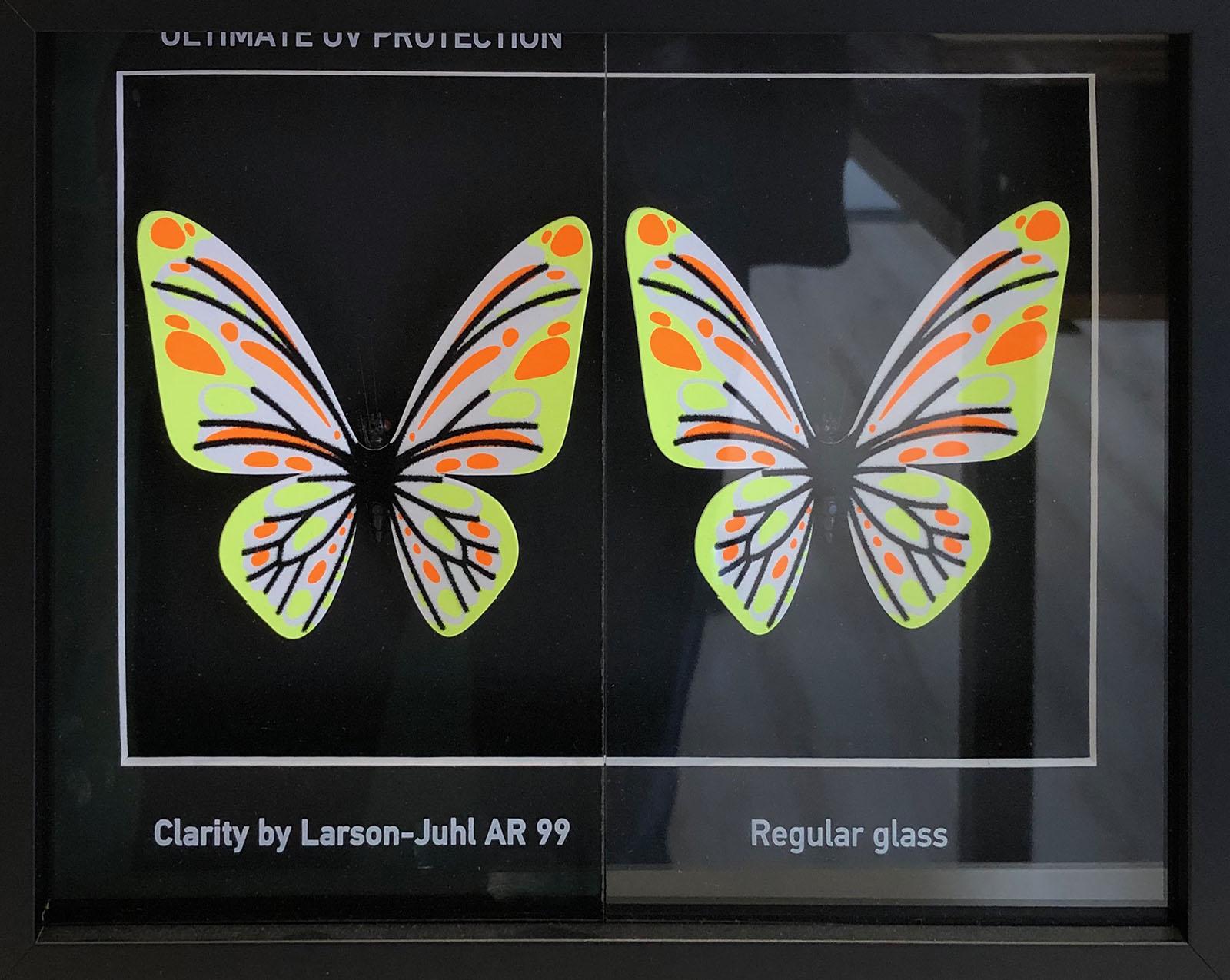 Het verschil tussen museumglas en gewoon glas